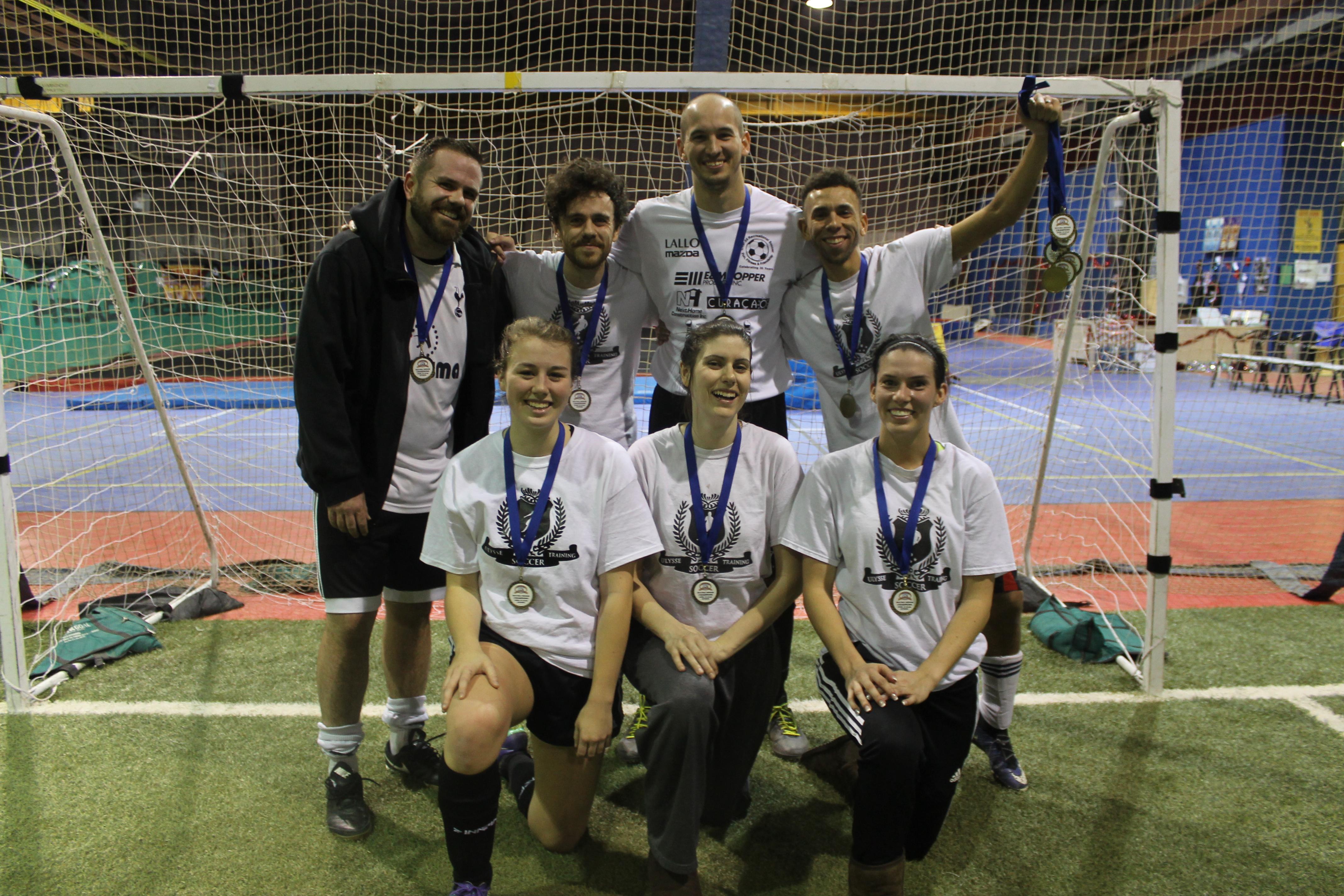 Fall Indoor Champions Brantford City Soccer Club