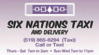 Six Nations Taxi Logo